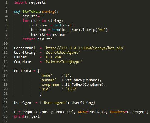 Hacking Soraya Panel - Free Bot? Free Bots! - MalwareTech