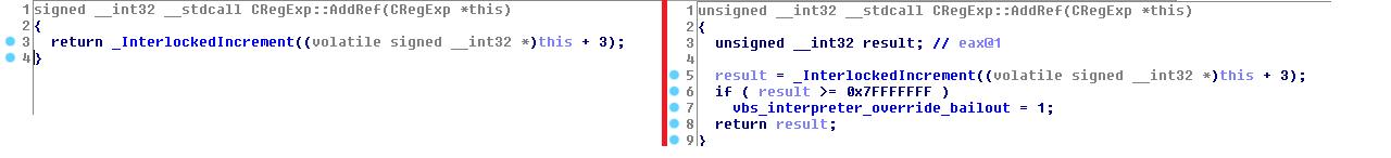 Analysis of a VB Script Heap Overflow (CVE-2019-0666) - MalwareTech